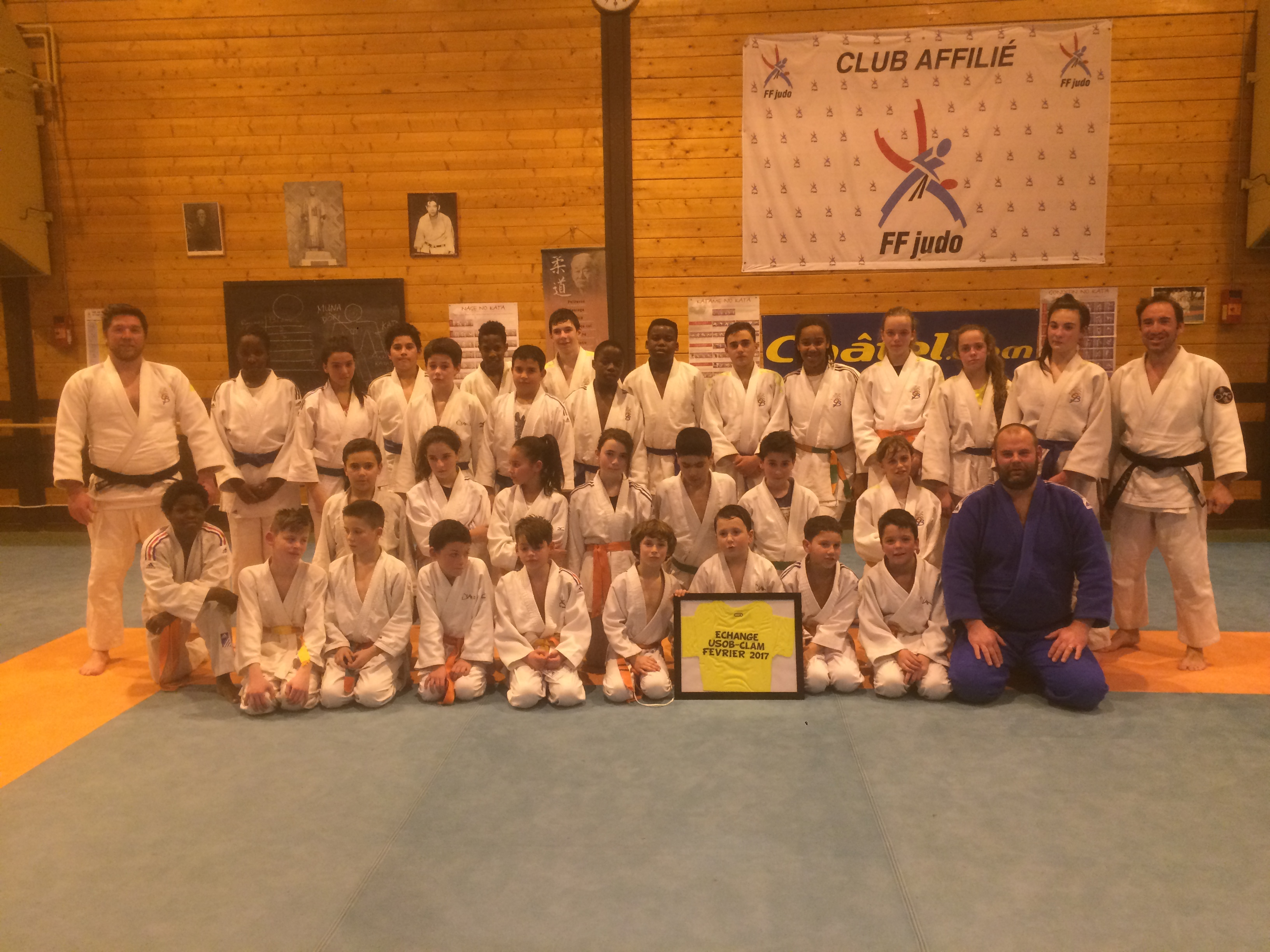 club karate evian